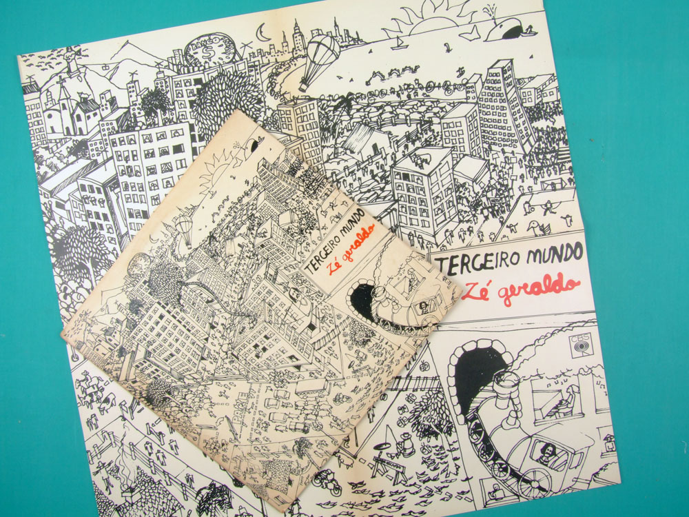 LP ZE GERALDO TERCEIRO MUNDO 1979 FOLK MINAS REGIONAL PSYCH SOFT ROCK BRAZIL