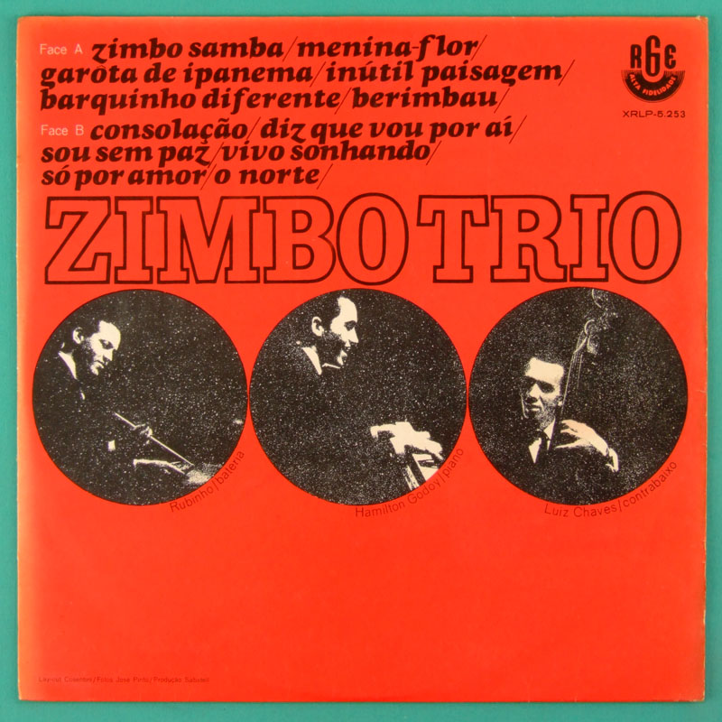 LP ZIMBO TRIO 1963 DEBUT BOSSA NOVA JAZZ INSTRUMENTAL BRAZIL