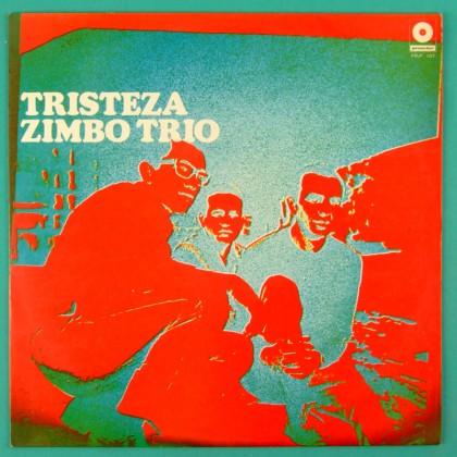 LP ZIMBO TRIO TRISTEZA BOSSA JAZZ GROOVE SAMBA BRAZIL