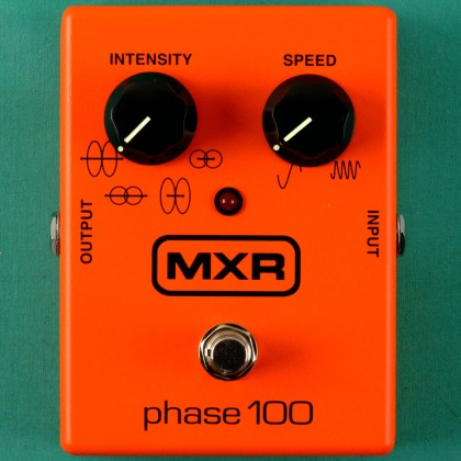Pedal Mxr Phase 100 Phaser Dunlop Vintage Reissue M- 107 NEW USA