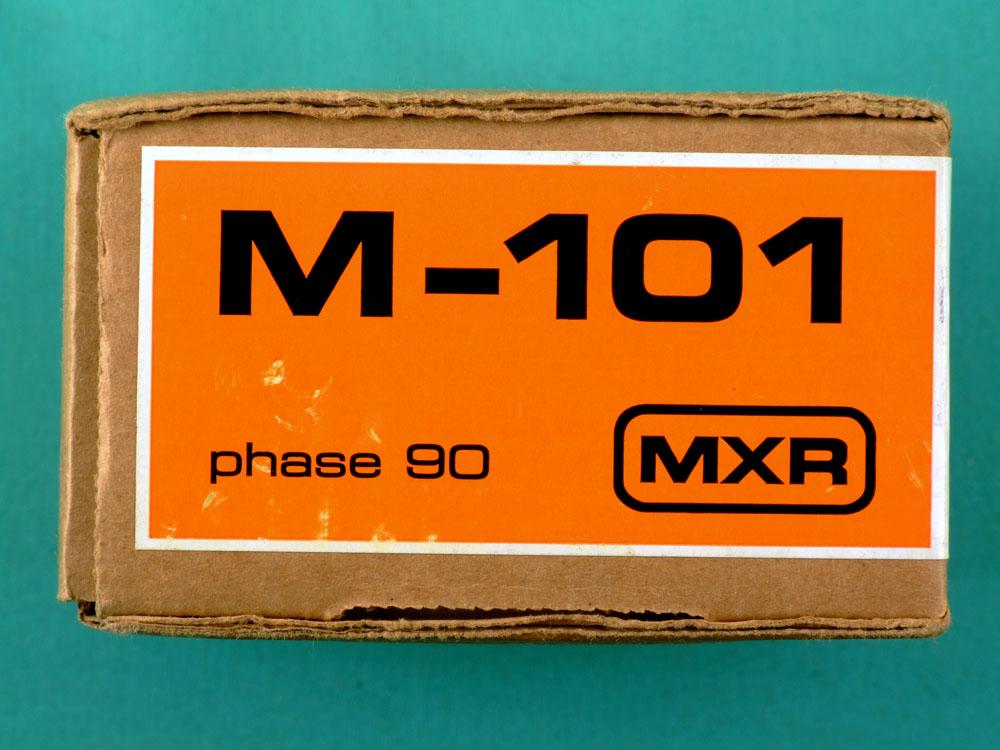 Pedal Mxr Phase 90 Dunlop Phaser M - 101 Block Logo New Usa