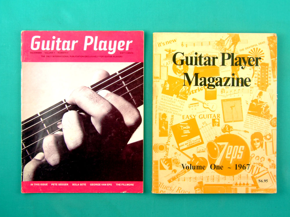 MAG GUITAR PLAYER AMERICAN COLLECTION COMPLETE SINCE NUMBER 1 BY 1967 UP TO 1974 FULL USA