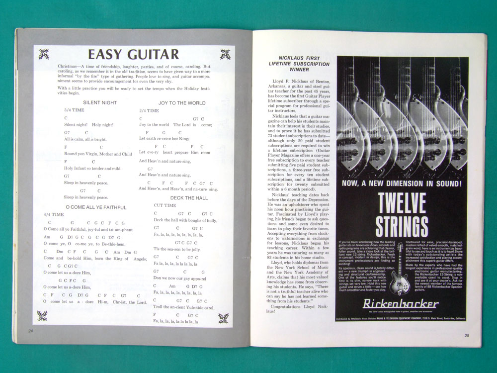 Guitar Player USA Edition YEAR 1967 Vol 1 NUMBER 4 USA