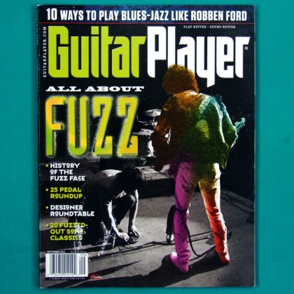 Guitar Player USA Setember 2011 Volume 45 Number 10 USA