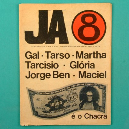JA 8 VOL 8 GAL COSTA TARSO DE CASTRO TARCISIO GLORIA JORGE BEN MACIEL 1971 BRAZIL