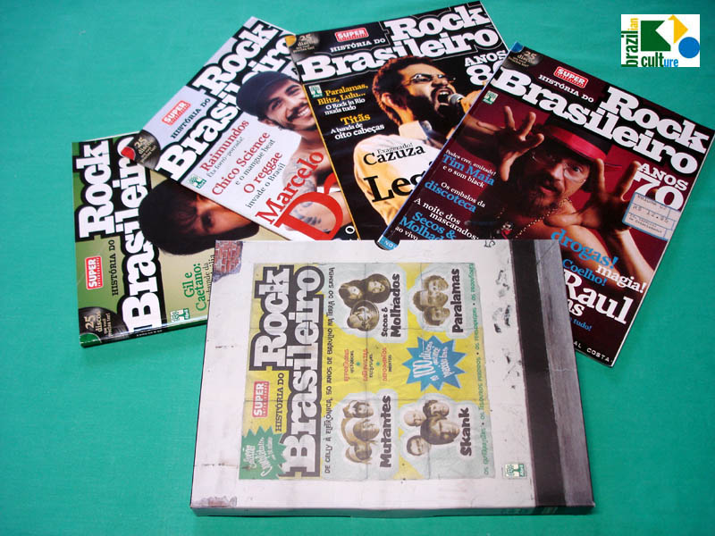 MAG HISTORIA DO ROCK BRASILEIRO STORY COMPLETE FROM 50'S TO 90'S KIT  BRAZIL