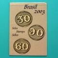 STAMPS 2003 BRAZILIAN SELOS COMPLETE COLLECTION BRAZIL