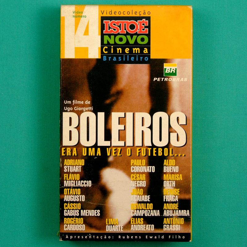 VHS UGO GIORGETTI BOLEIROS ERA UMA VEZ O FUTEBOL 1998 BRAZILIAN FOOTBALL SOCCER BRAZIL BRASIL