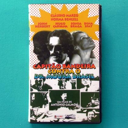 VHS ANTONIO CALMON CAPITAO BANDEIRA CONTRA O DR. MOURA BRASIL 1971 BRAZIL