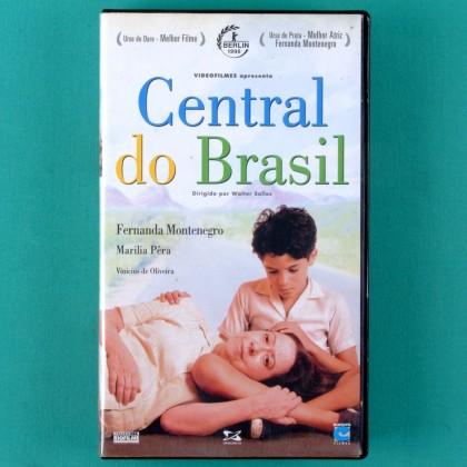 VHS WALTER SALLES CENTRAL DO BRASIL 1998 FERNANDA MONTENEGRO DRAMA BRAZIL