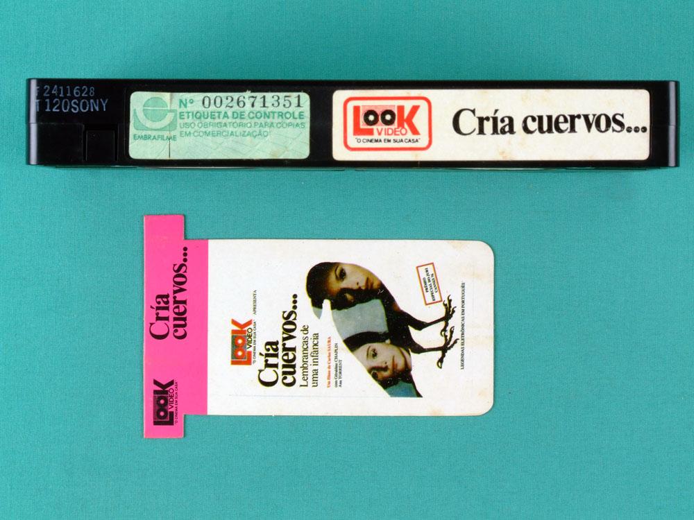 VHS CARLOS SAURA CRIA CUERVOS 1976 DRAMA BRAZIL