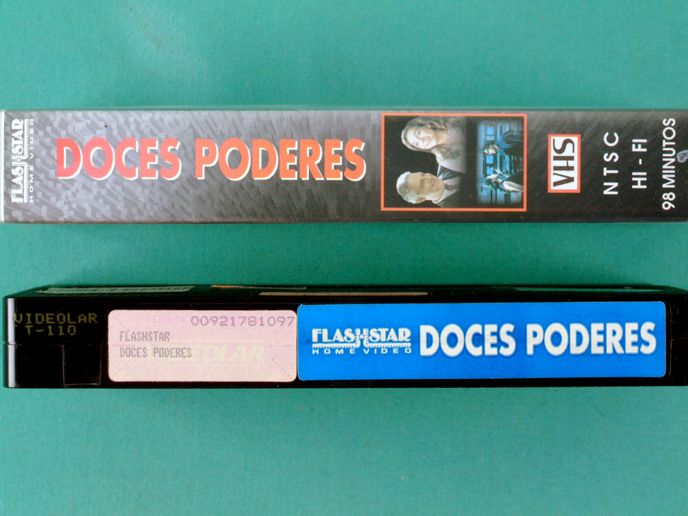 VHS LUCIA MURAT DOCES PODERES 1996 ANTONIO FAGUNDES MARISA ORTH SACHA AMBACK ADRIANA CALCANHOTO BRAZIL