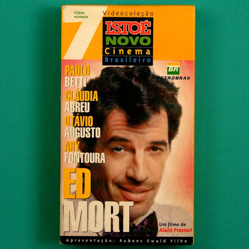 VHS ALAIN FRESNOT ED MORT 1996 ISTO É NOVO CINEMA 07 PAULO BETTI COMEDY BRAZIL
