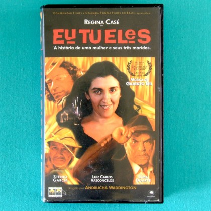 VHS EU TU ELES 2000 REGINA CASE GILBERTO GIL STENIO GARCIA LIMA DUARTE DRAMA  BRAZIL