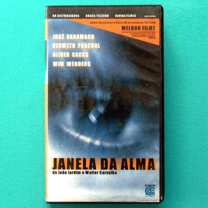 VHS JANELA DA ALMA 2001 HERMETO PASCOAL SARAMAGO EXP BRAZIL