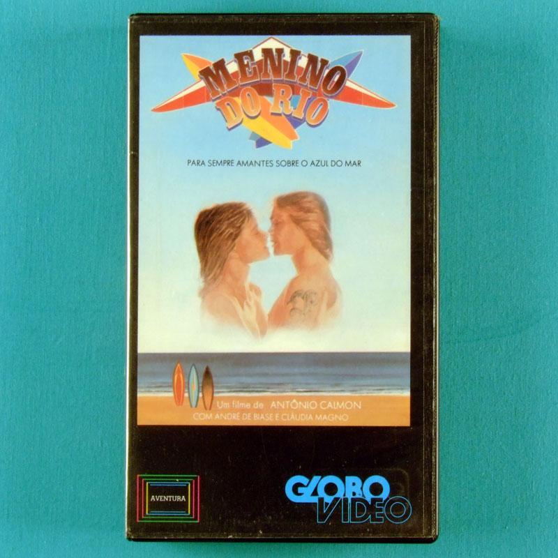 VHS ANTONIO CALMON MENINO DO RIO 1982 EVANDRO MESQUITA GUILHERME ARANTES BRAZIL