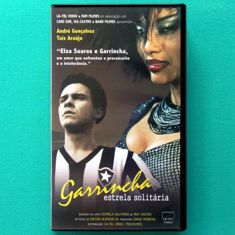 VHS GARRINCHA ESTRELA SOLITARIA 2003 SOCCER FOOTBALL BRAZIL