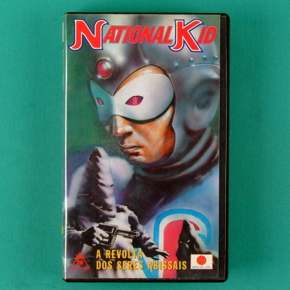 VHS NATIONAL KID A REVOLTA DOS SERES ABISSAIS 1960 BRAZIL