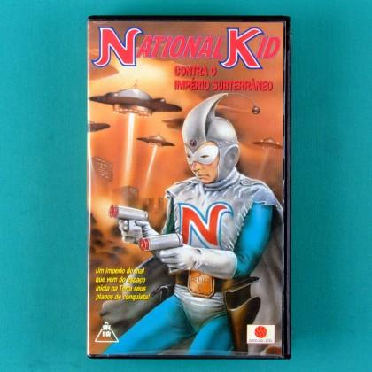 VHS NATIONAL KID CONTRA O IMPERIO SUBTERRANEO 1960 BRAZIL