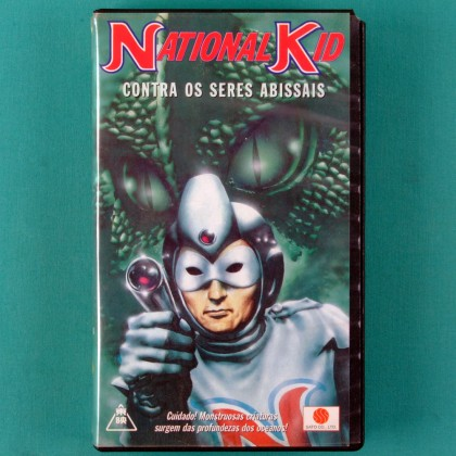 VHS NATIONAL KID CONTRA OS SERES ABISSAIS 1960 BRAZIL