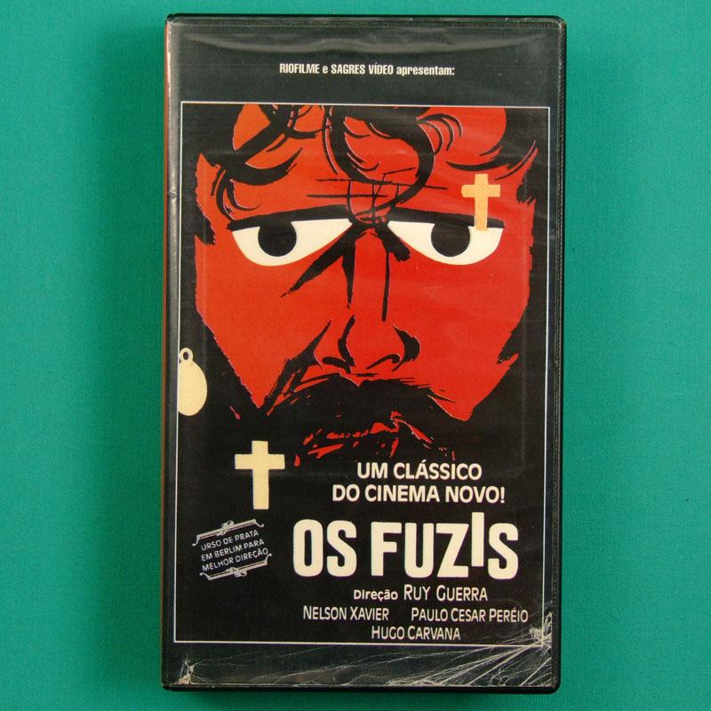 VHS OS FUZIS RUY GUERRA HUGO CARVANA MILTON NASCIMENTO CINEMA NOVO BRAZIL