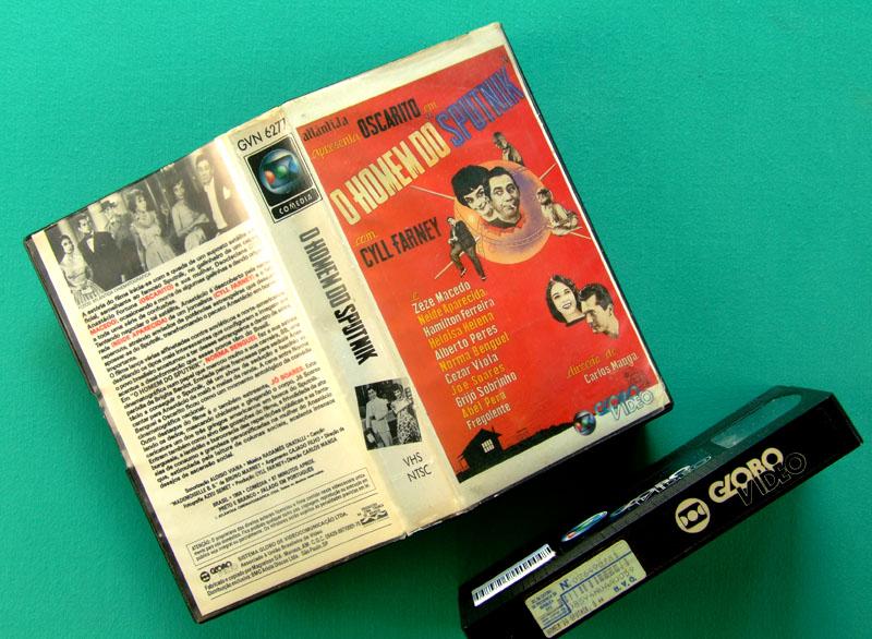 VHS OSCARITO O HOMEM DO SPUTNIK 1959 COMEDY CLASSIC BRAZIL