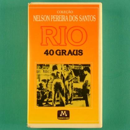 VHS NELSON PEREIRA DOS SANTOS RIO 40 GRAUS 1955 DRAMA BRAZIL