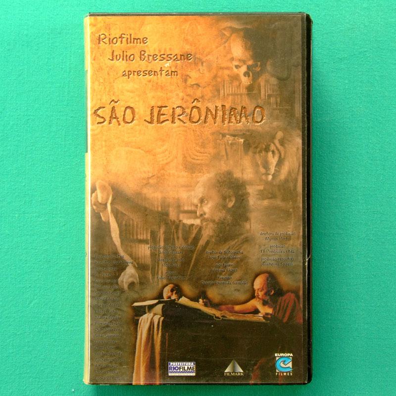VHS JULIO BRESSANE SAO JERONIMO 1999 UNDERGROUND CONTRACULTURE MARGINAL BRASIL