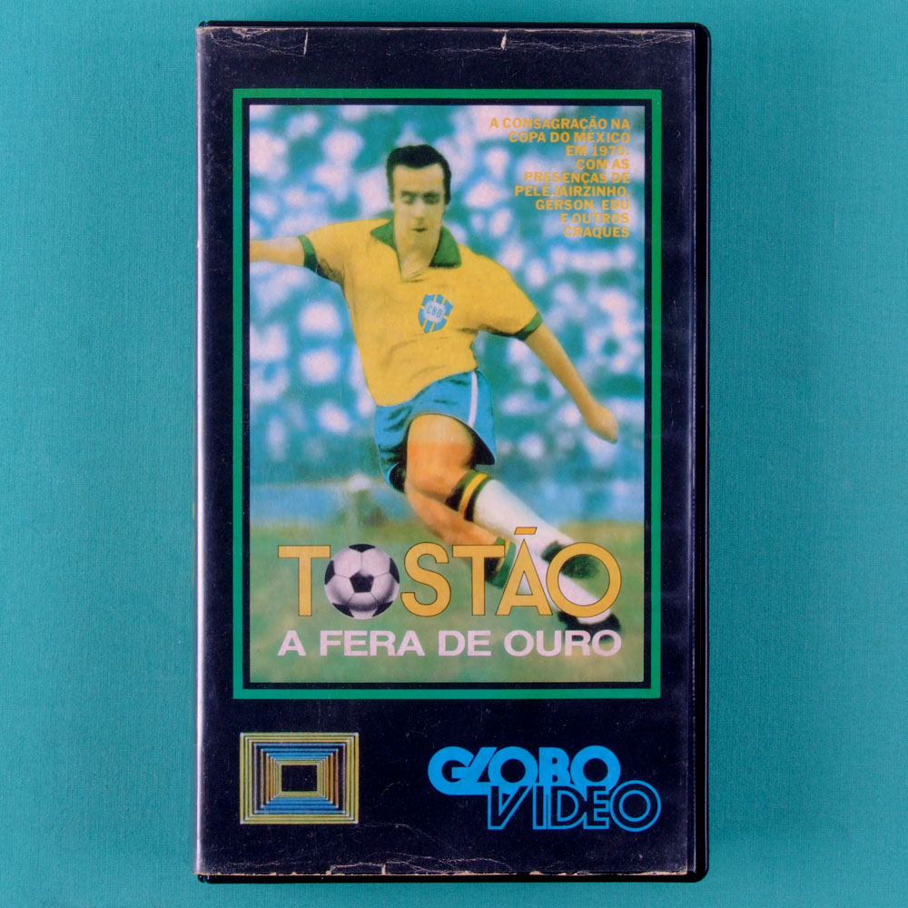VHS TOSTAO A FERA DE OURO 1970 DOCUMENTARY SOCCER MOVIE BRASIL