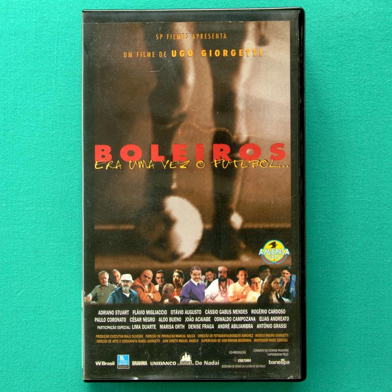 VHS BOLEIROS - FUTEBOL BRAZILIAN FOOTBALL SOCCER BRAZIL