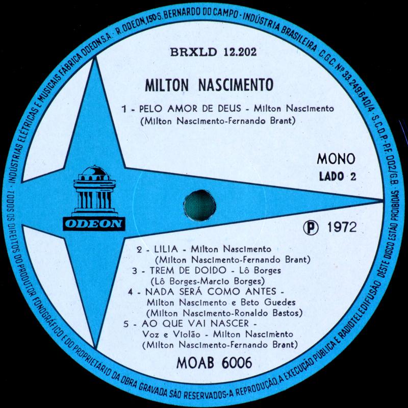 Milton Nascimento Amp L 244 Borges Clube Da Esquina